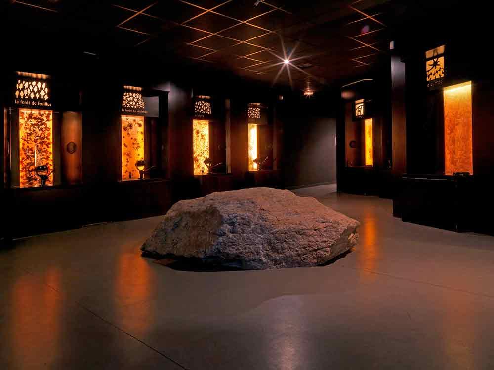 Musée de l'observatoire salle découverte par les sens