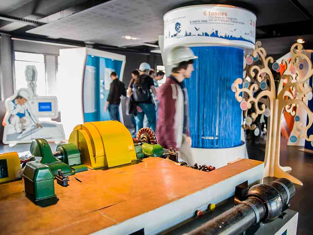 visite de la centrale hydroelectrique